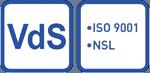 VdS Siegel NSL ISO 9001