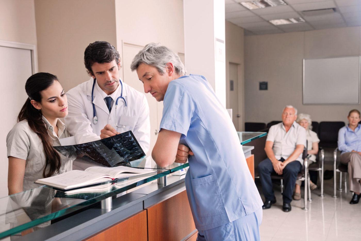 Gewerbe Arztpraxen